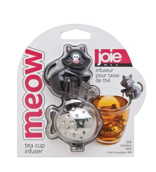 Cat Meow Tea Infuser Black Cat