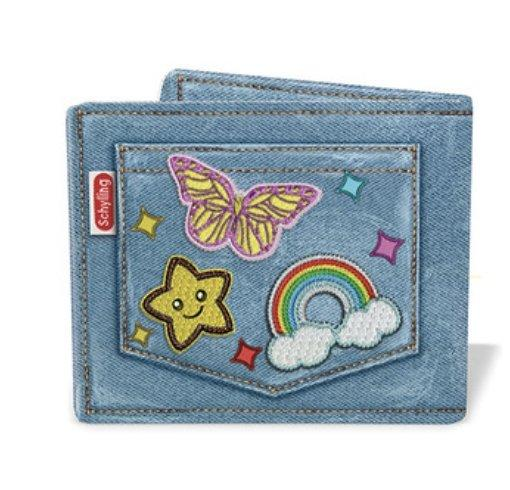 Kids Wallets Blue Cute