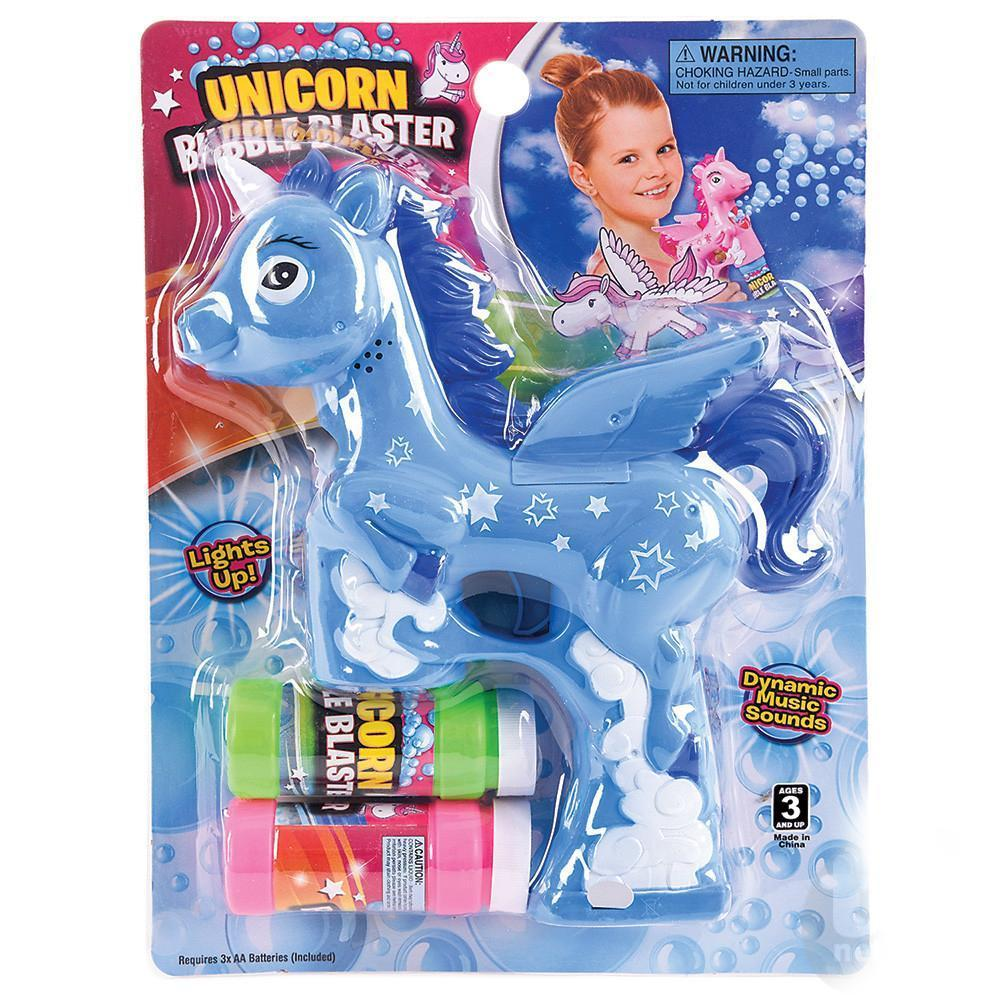 Unicorn Bubble Blaster Blue