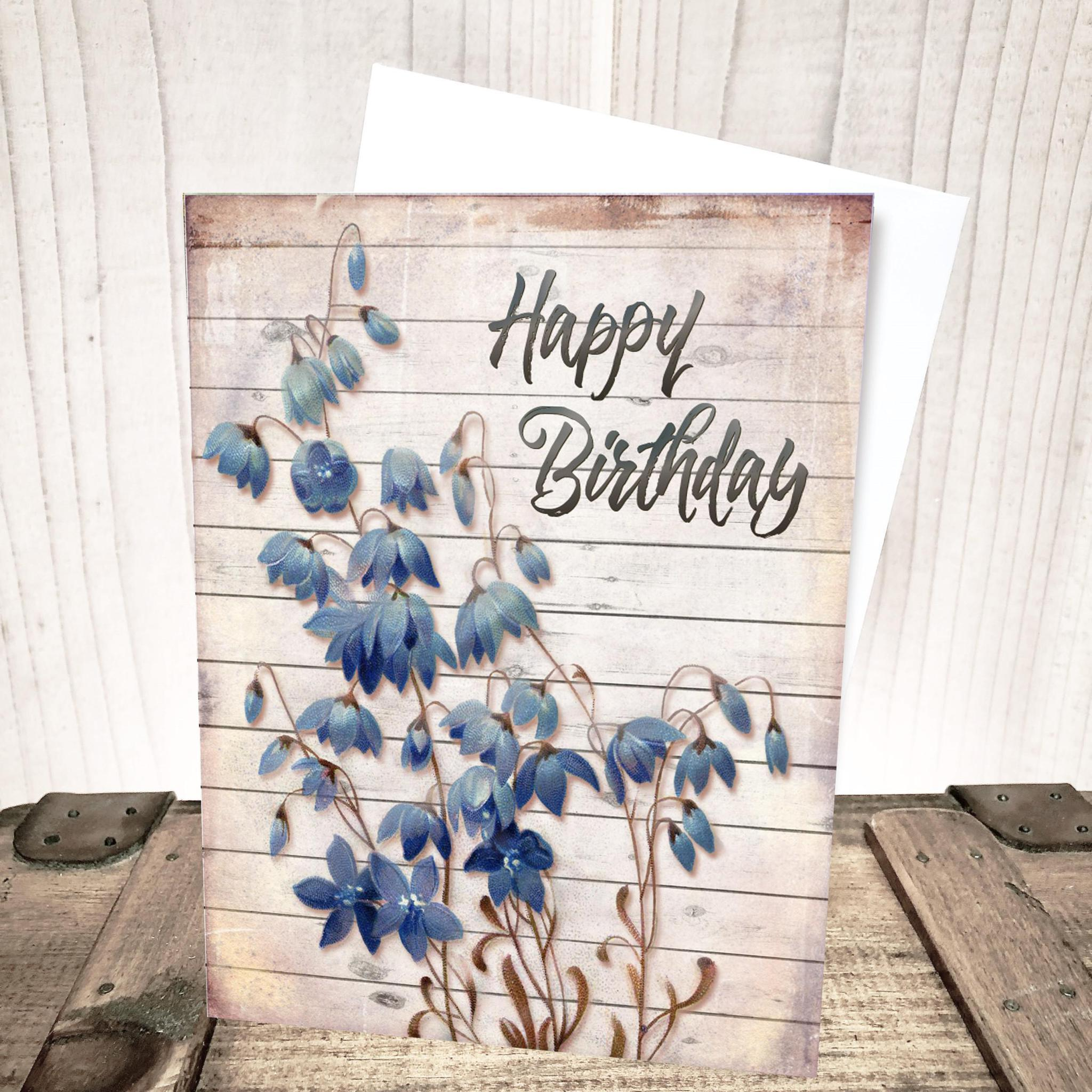 Bluebell Birthday Card by Yesterday's Best