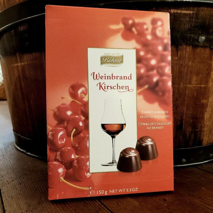 Bohme Weinbrand Kirschen Cherry & Brandy Filled Chocolates