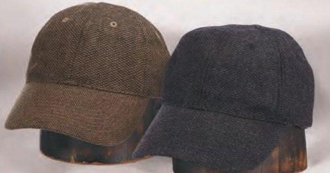 Wool Blend Nail Head Cap by Stetson Brown