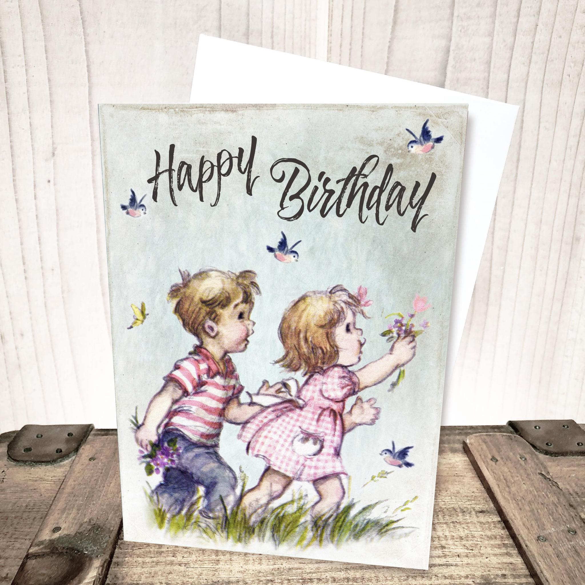 Child Birthday Card by Yesterday's Best
