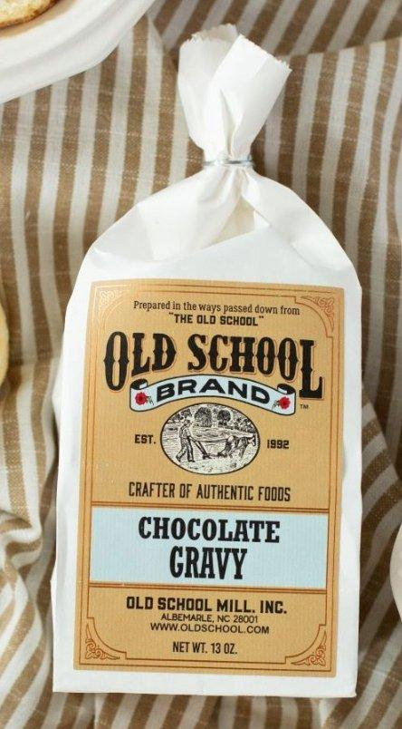 Chocolate Gravy Mix By Old School Brand