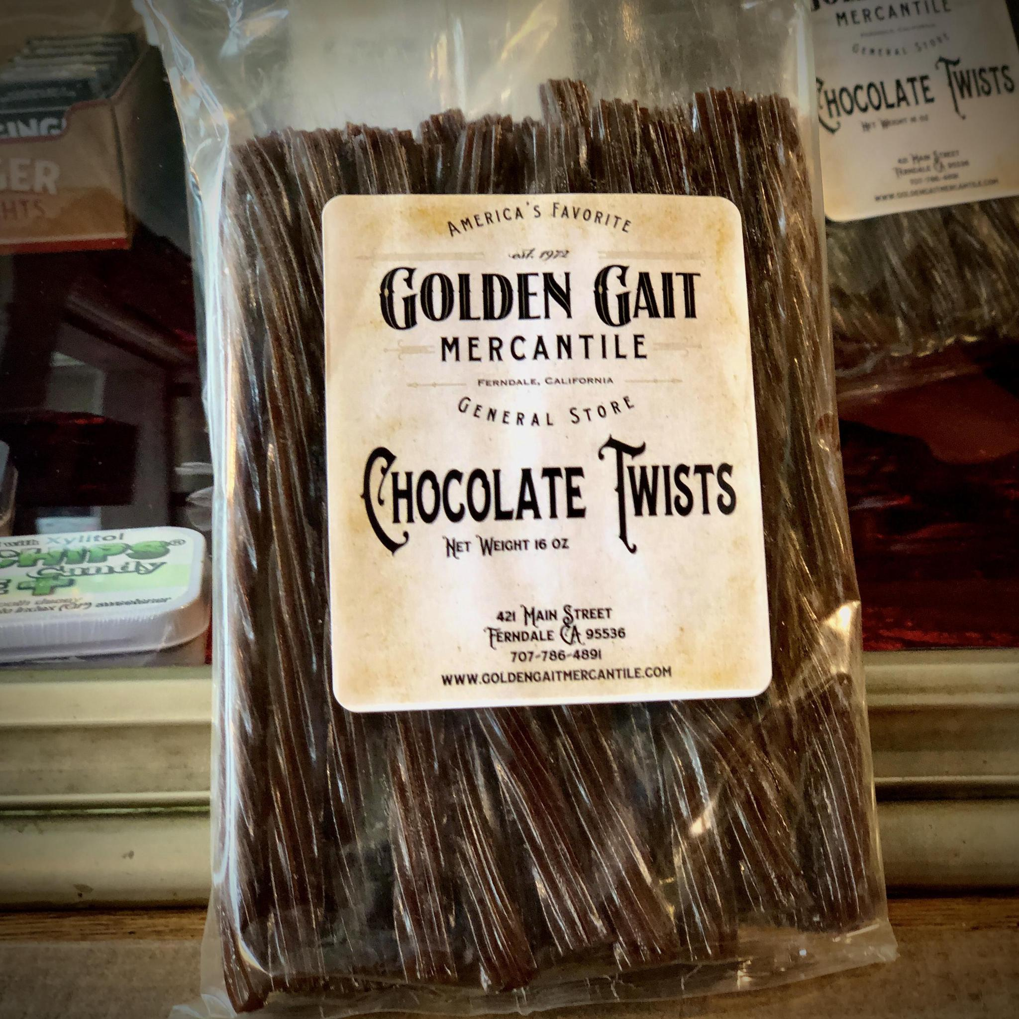 Chocolate Twists By The Golden Gait Mercantile