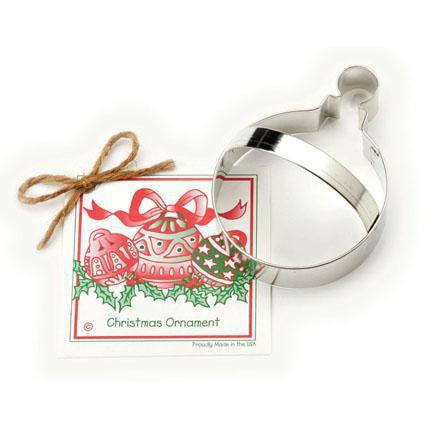 Christmas Ornament Cookie Cutter