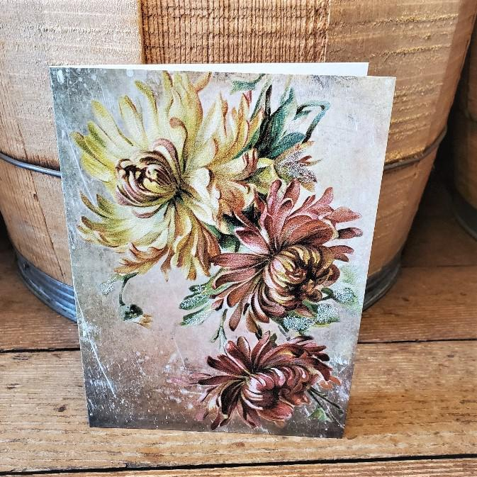 Chrysanthemum Greeting Card By Yesterday's Best