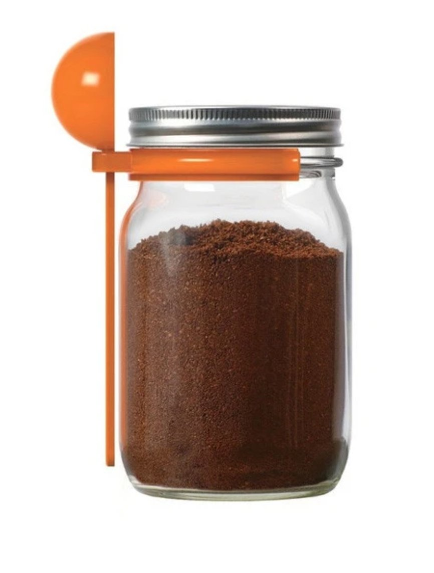 Coffee Spice Spoon Clip by Jarware