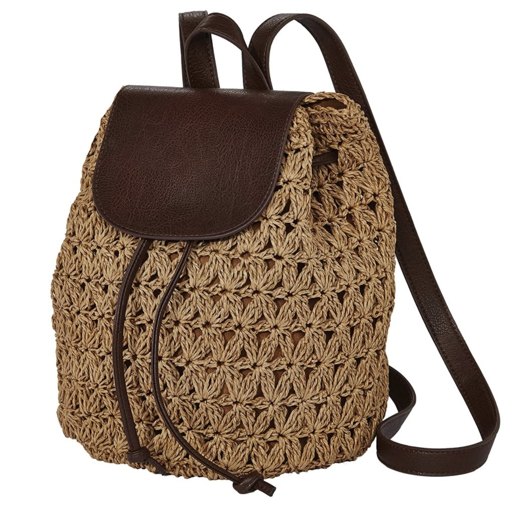 Crochet Toyo Backpack by Cappelli