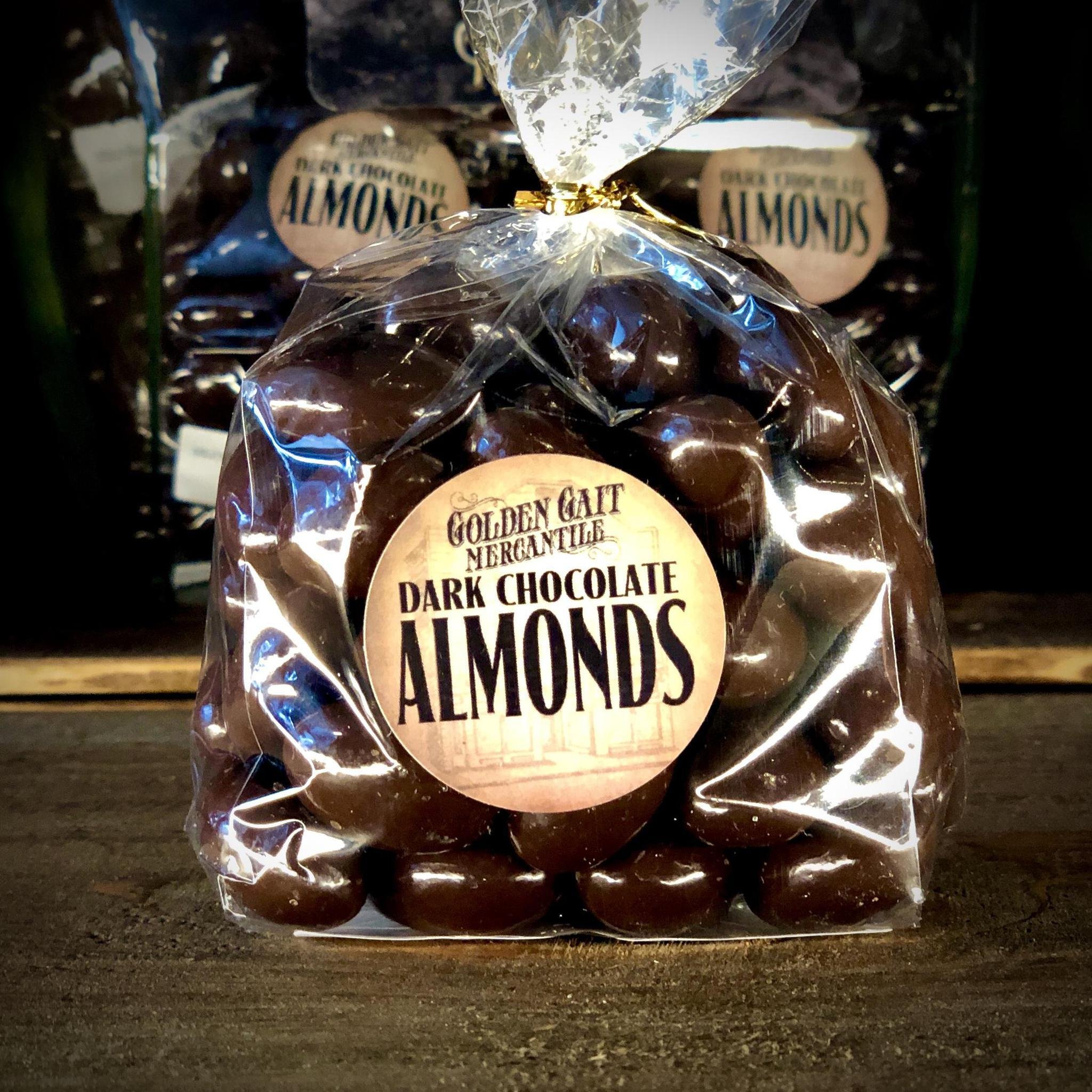 Dark Chocolate Almonds By The Golden Gait Mercantile