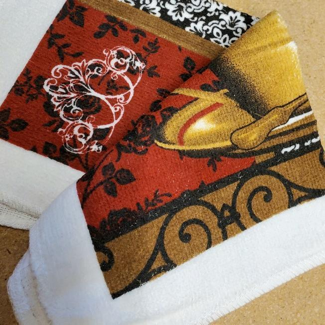 Coffee Time Kitchen Linens Dishcloth