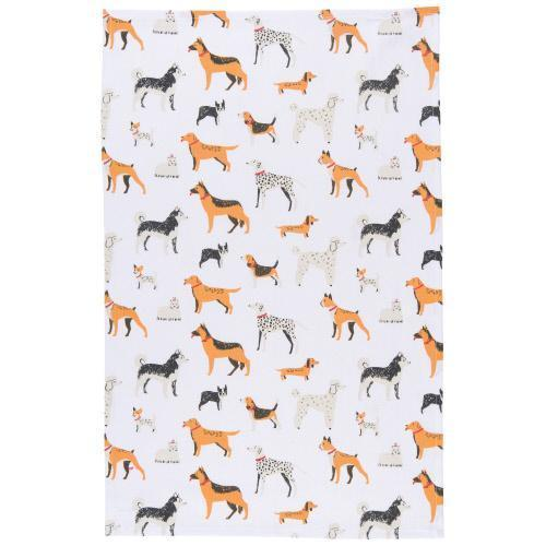 Dog Days Dishtowel