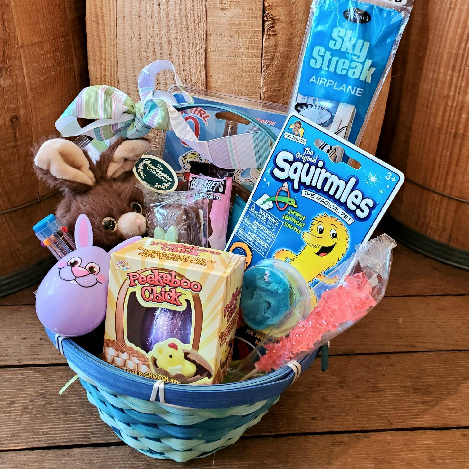 Easter Basket - Glider and Toys