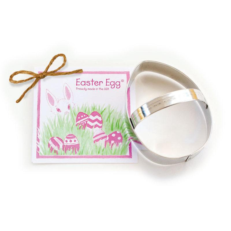 Easter Egg Cookie Cutter 4""