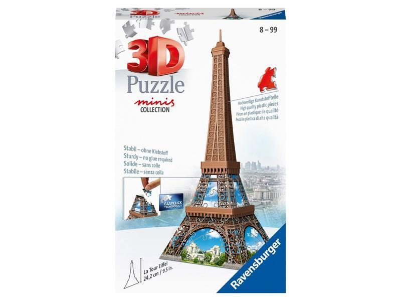 Eiffel Tower 216 Piece Mini 3D Puzzle