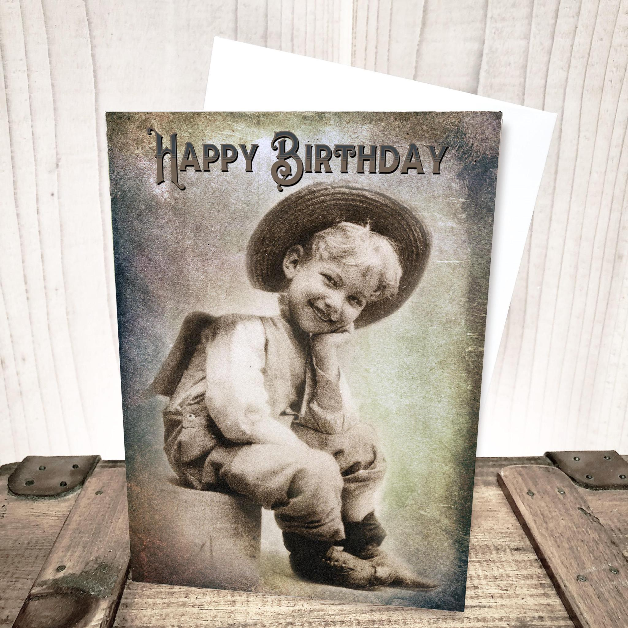 Farm Boy Birthday Card by Yesterday's Best