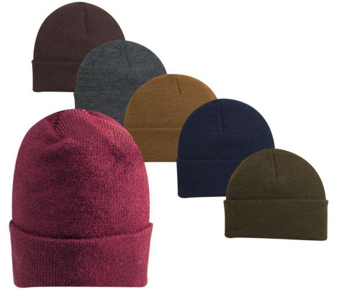 Fine gauge Knit Cuff Cap with Thinsulate™ Insulation