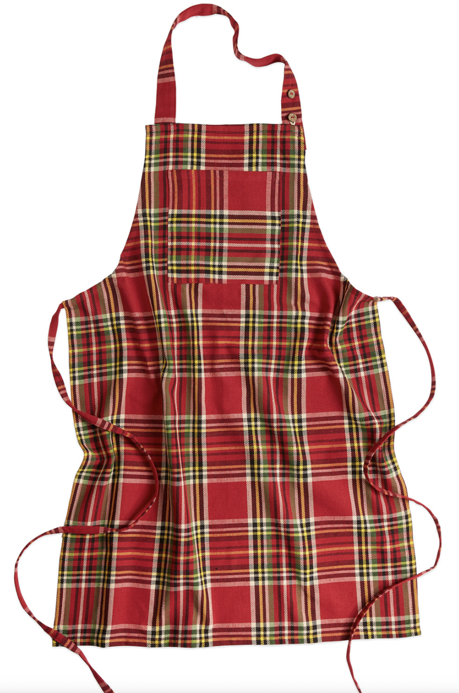 Fireside Tartan Plaid Apron by April Cornell