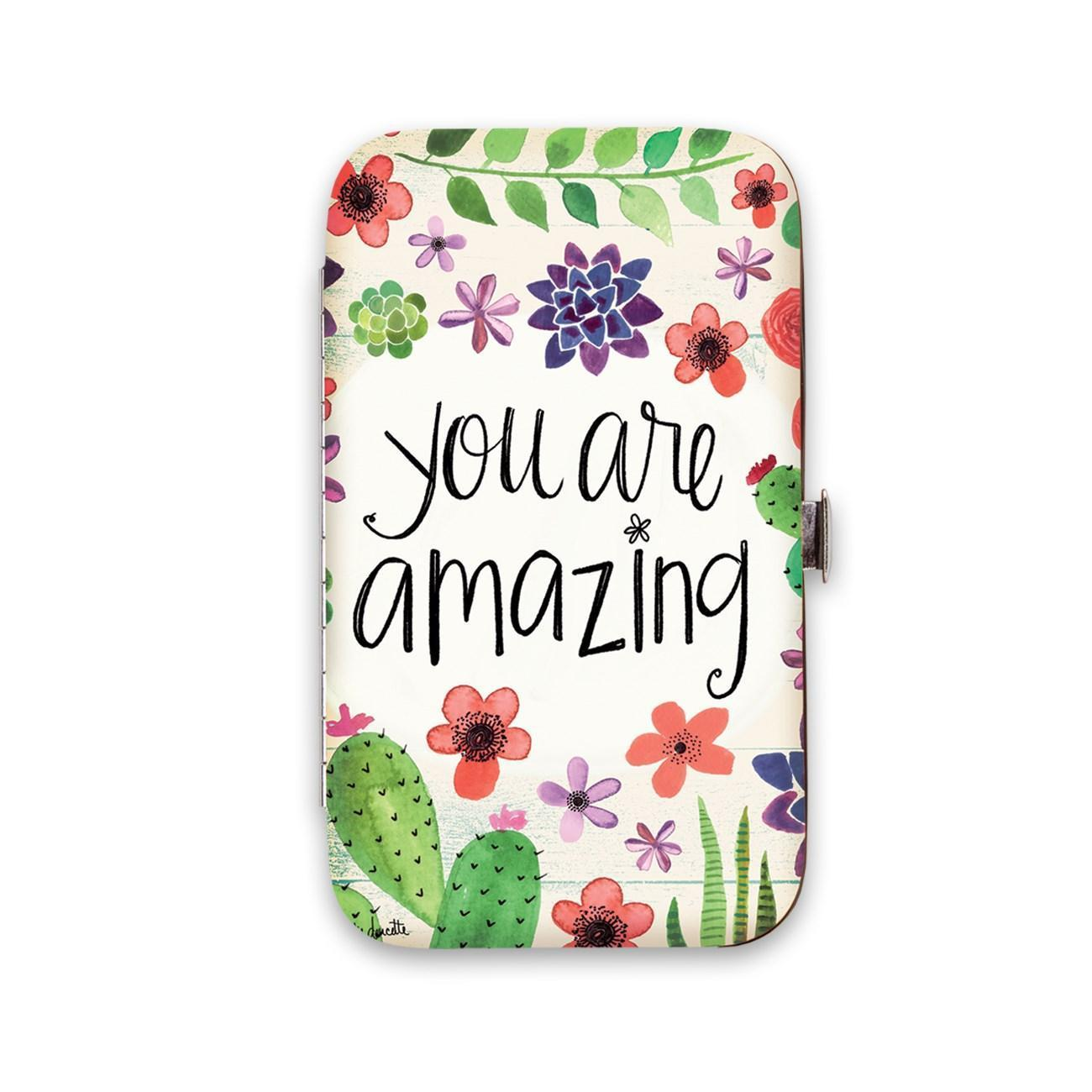 Floral Manicure Set You are Amazing