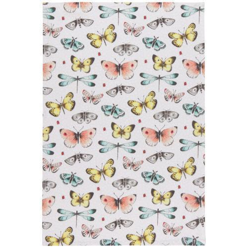 Fly Away Butterfly Dishtowel