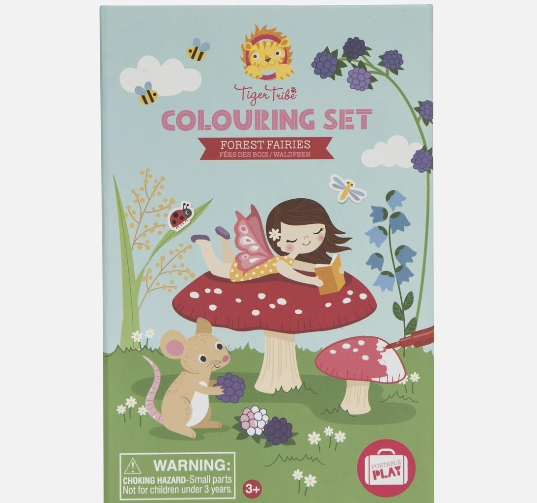 Forest Fairies Coloring Set