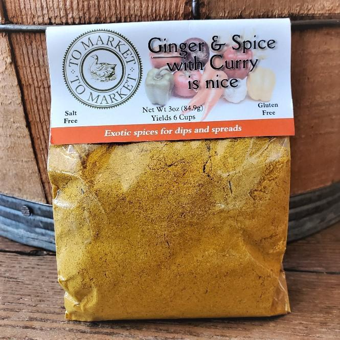 Dip & Spread Mixes by To Market to Market Ginger and Spice with Curry