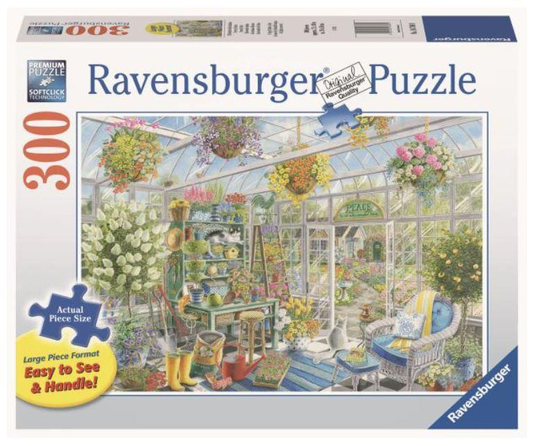 Greenhouse Heaven 300 Piece Large Pieces Puzzle