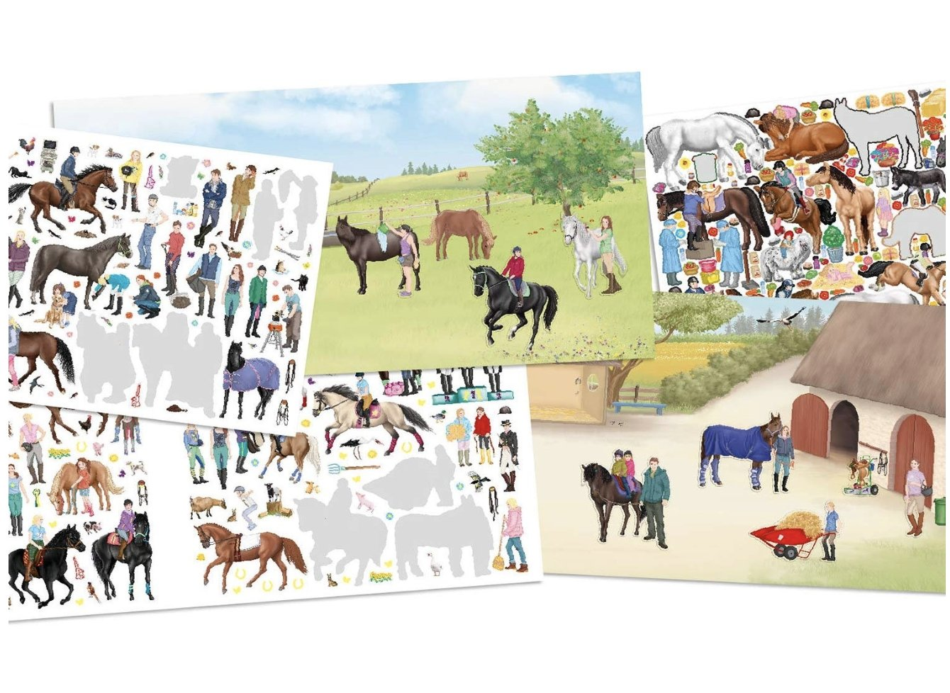 Horses Dreams: Happy Horses Activity Sticker Book