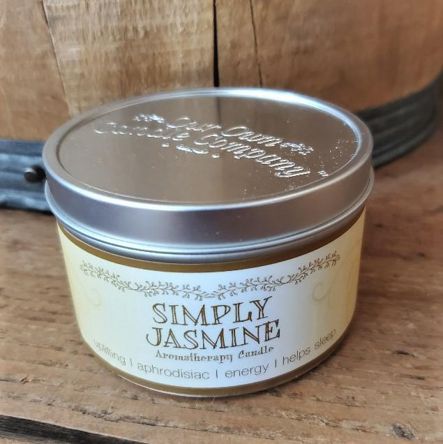Aromatherapy Tin Soy Candles Jasmine