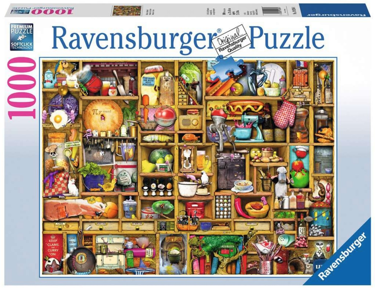 Kitchen Cupboard Puzzle