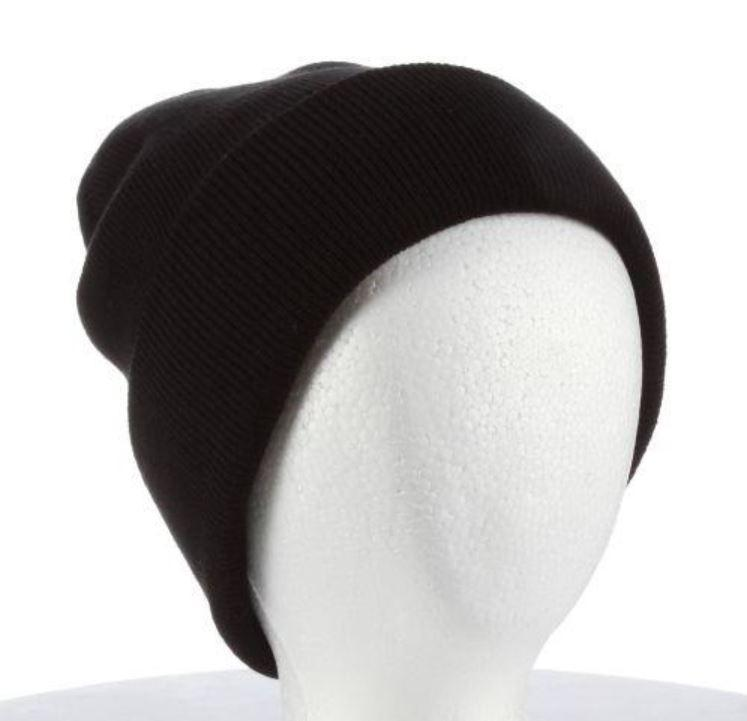 Knit Skully Cap with Fleece Lining
