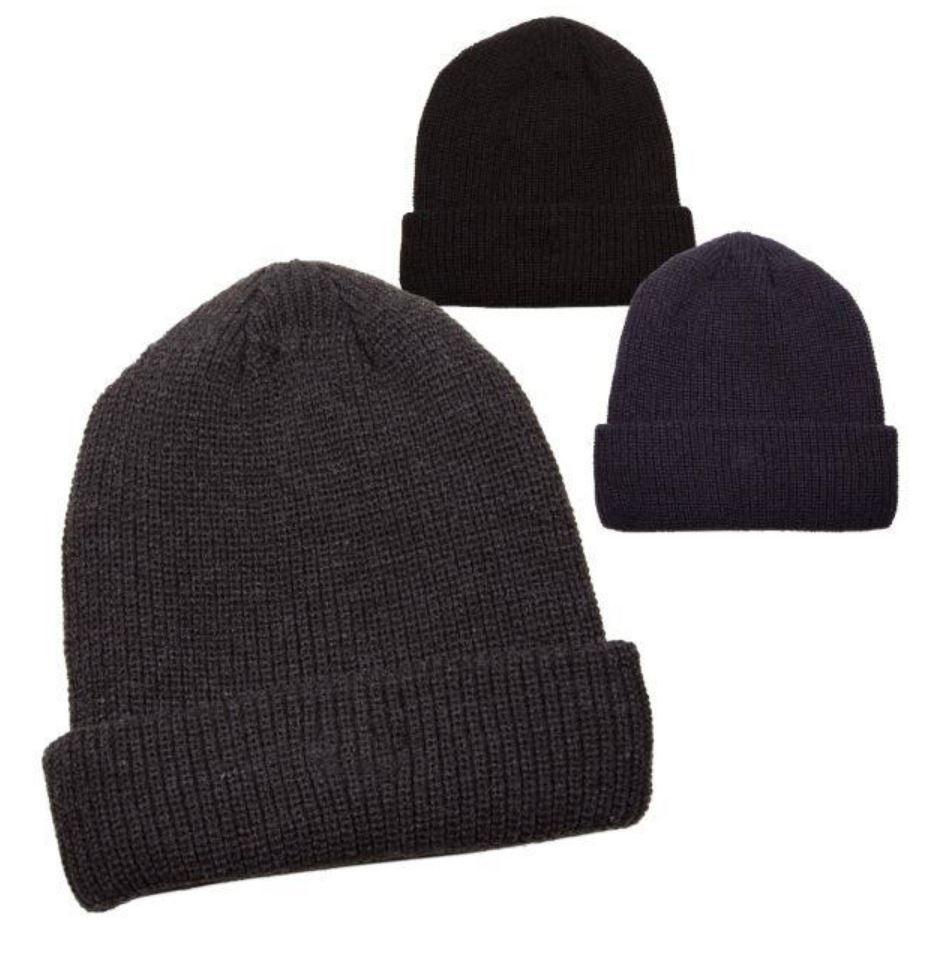 Knit Skully Cap with Fleece Lining Copy