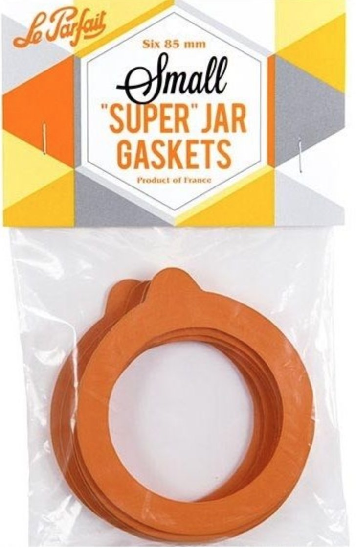 "Le Parfait ""Super"" Jar Gaskets (6pk)"