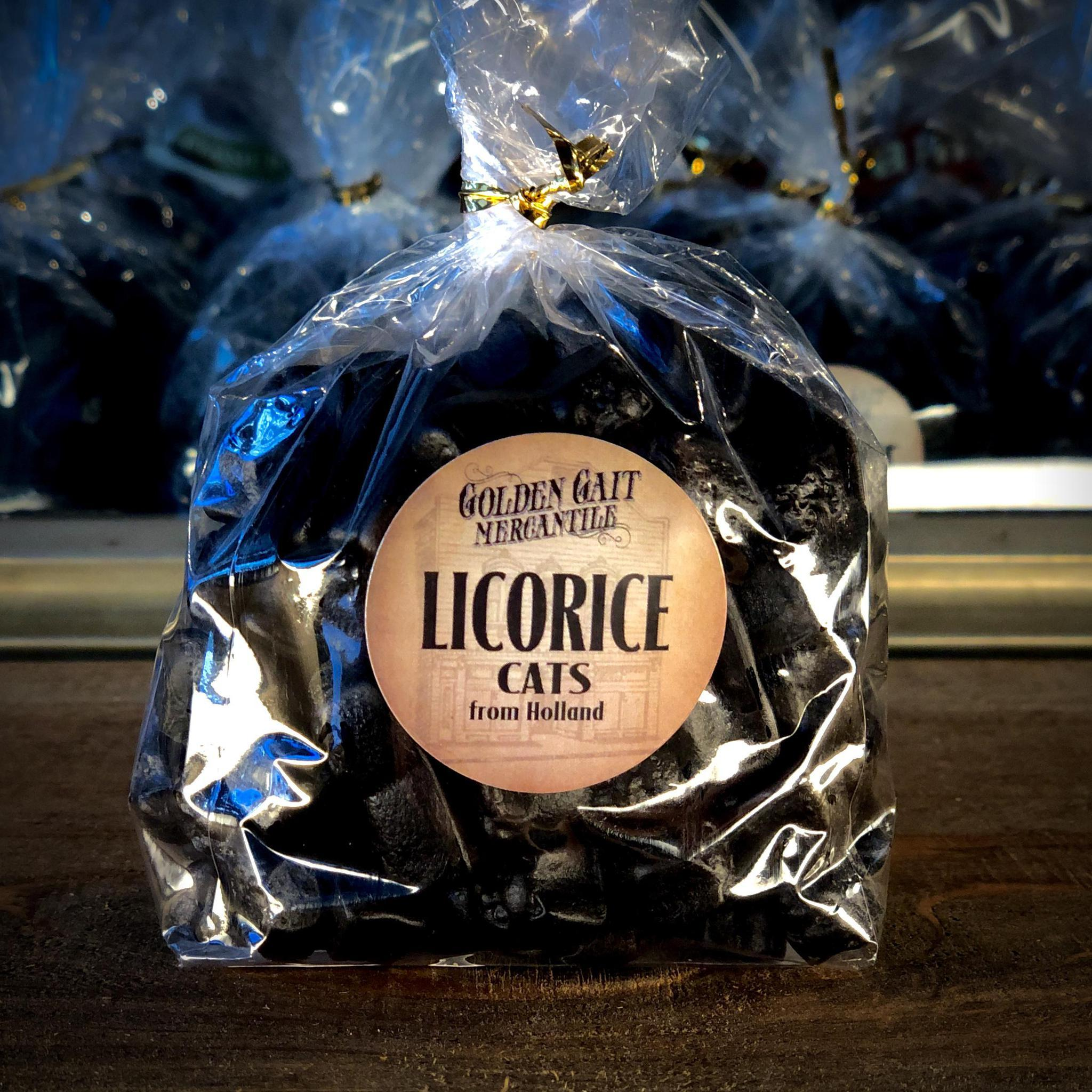 Licorice Cats By The Golden Gait Mercantile
