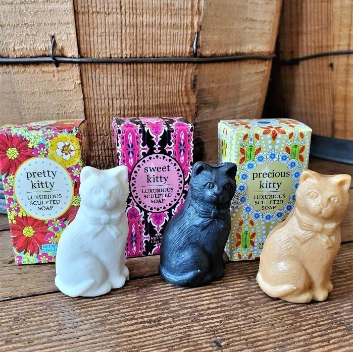 Luxurious Sculpted Kitty Soap