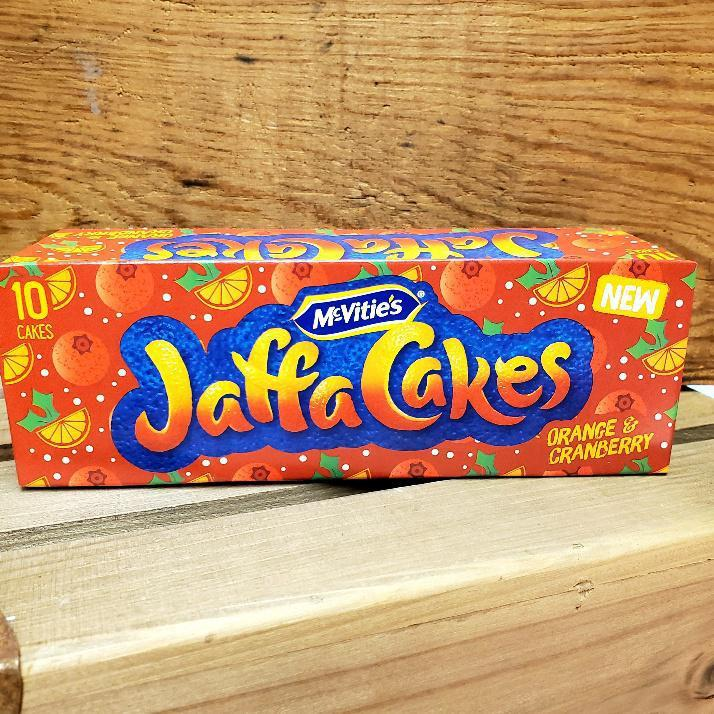 McVitie's Jaffa Cakes Orange and Cranberry