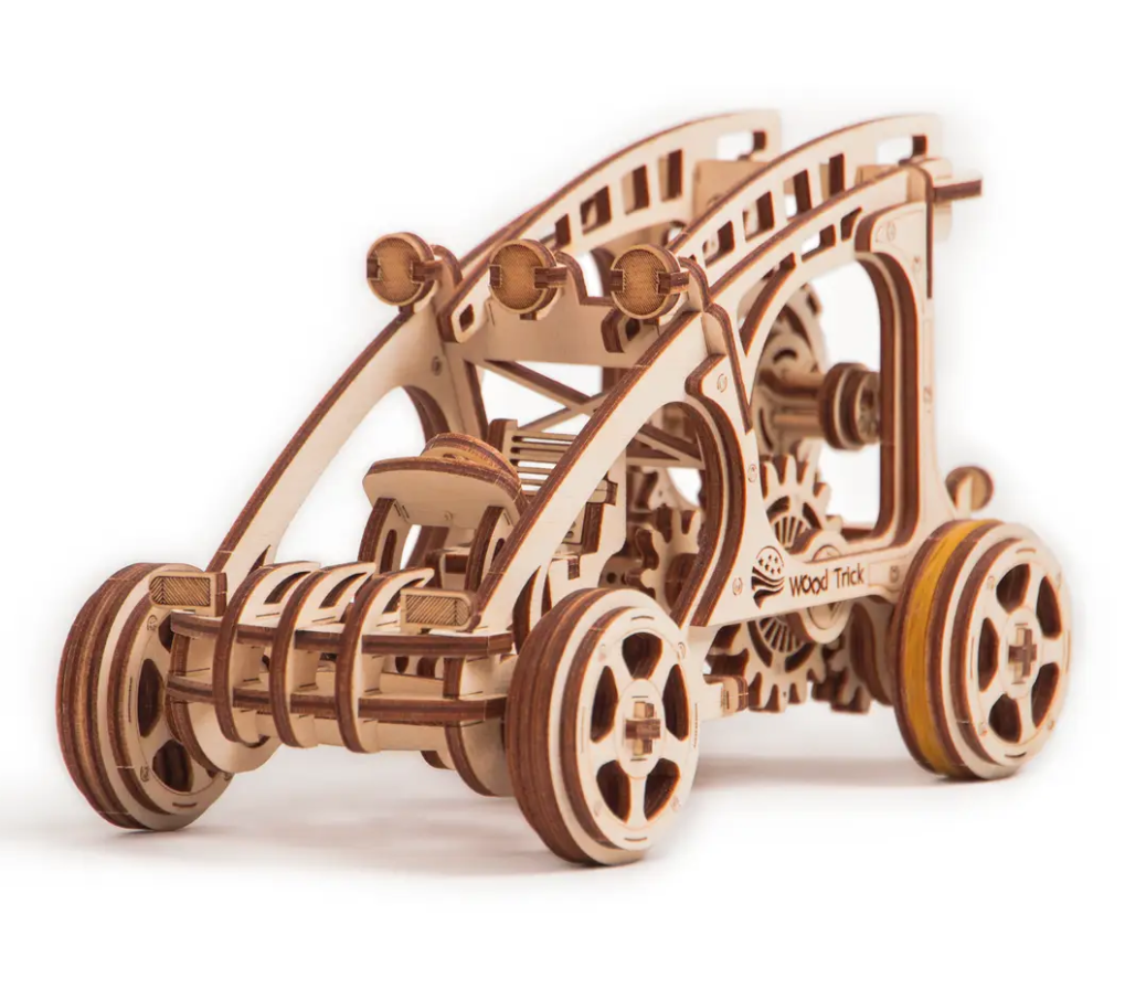 Mechanical 3D Puzzle Buggy