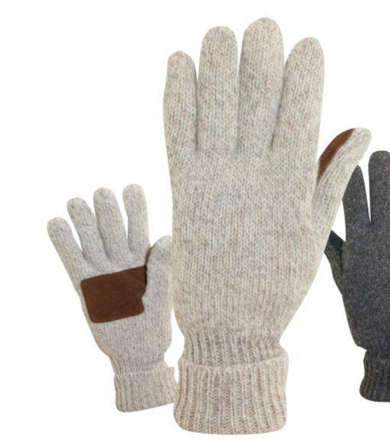 Men's Ragg Wool Glove with 3M Thinsulate™ Insulation