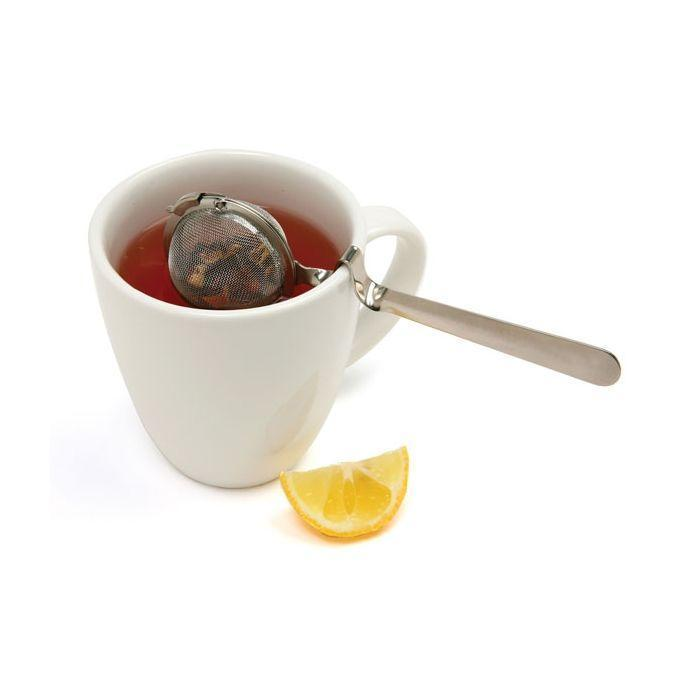 Mesh Tea Infuser Ball with Cup Rest Handle
