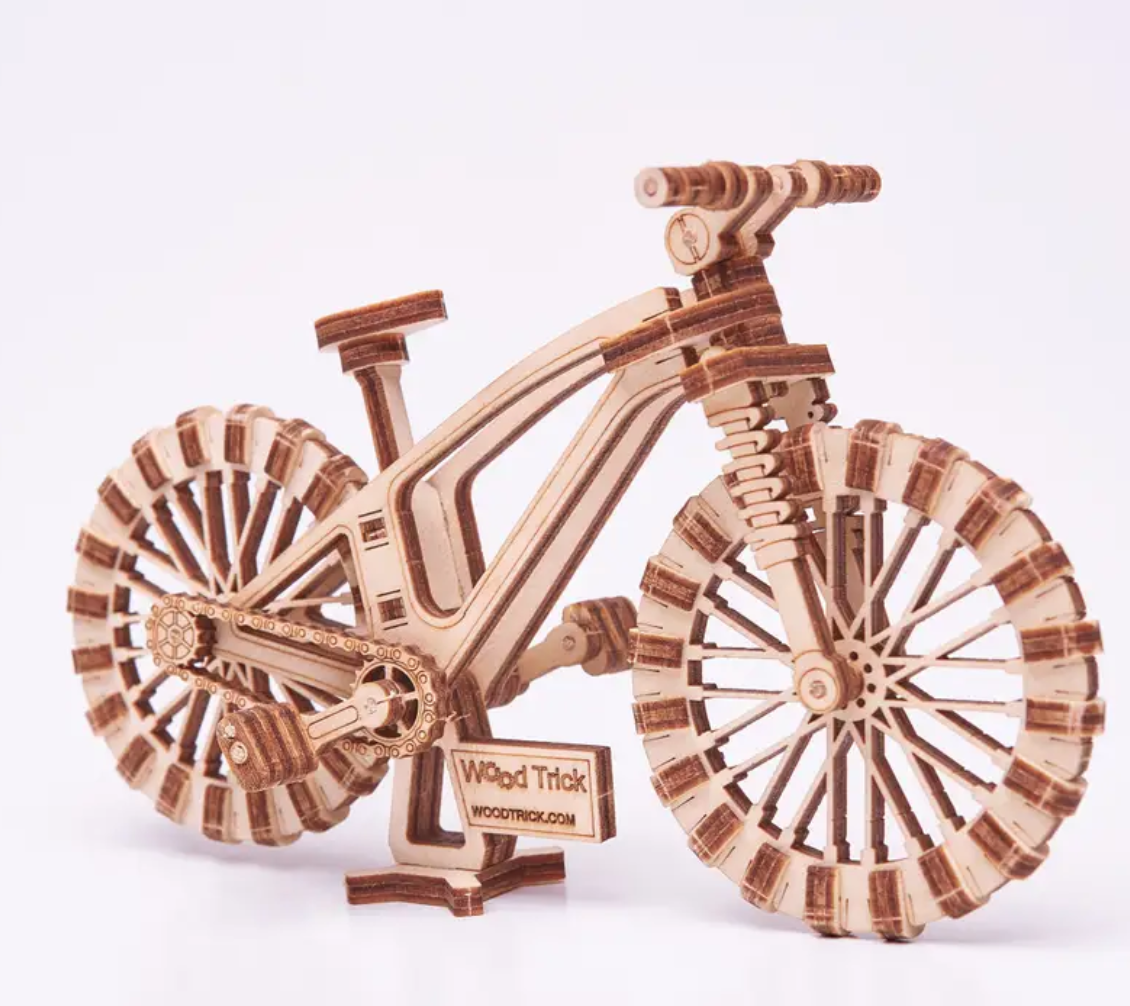 Mini Wooden Bicycle