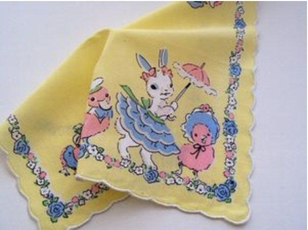New Bunny Hankie - All Dressed Up!