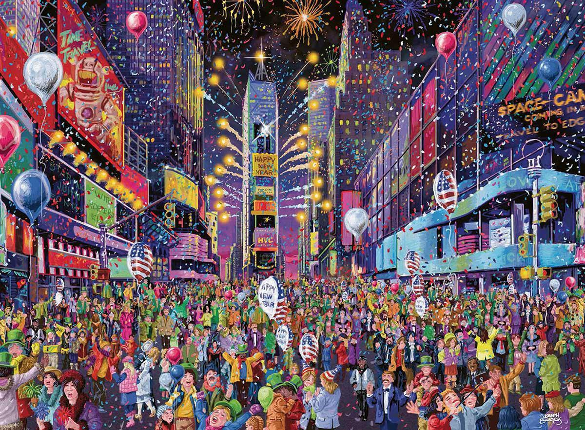 New Years Eve in Times Square 500 Piece Puzzle by Ravensburger - New for 2020