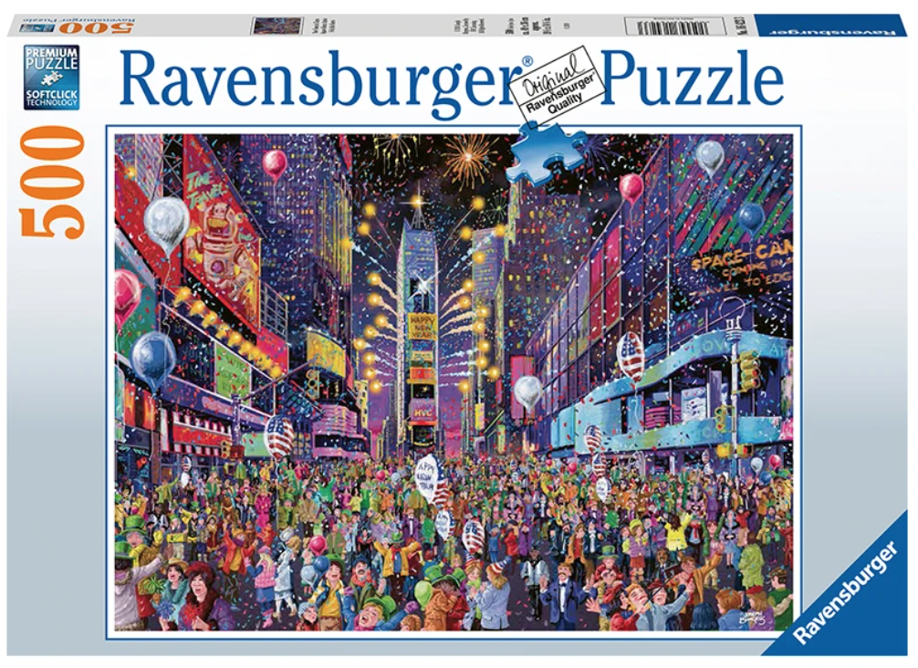 New Years Eve in Times Square 500 Piece Puzzle - New for 2020