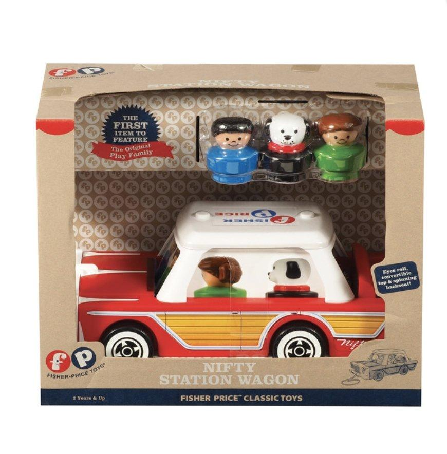 Nifty Station Wagon By Fisher Price