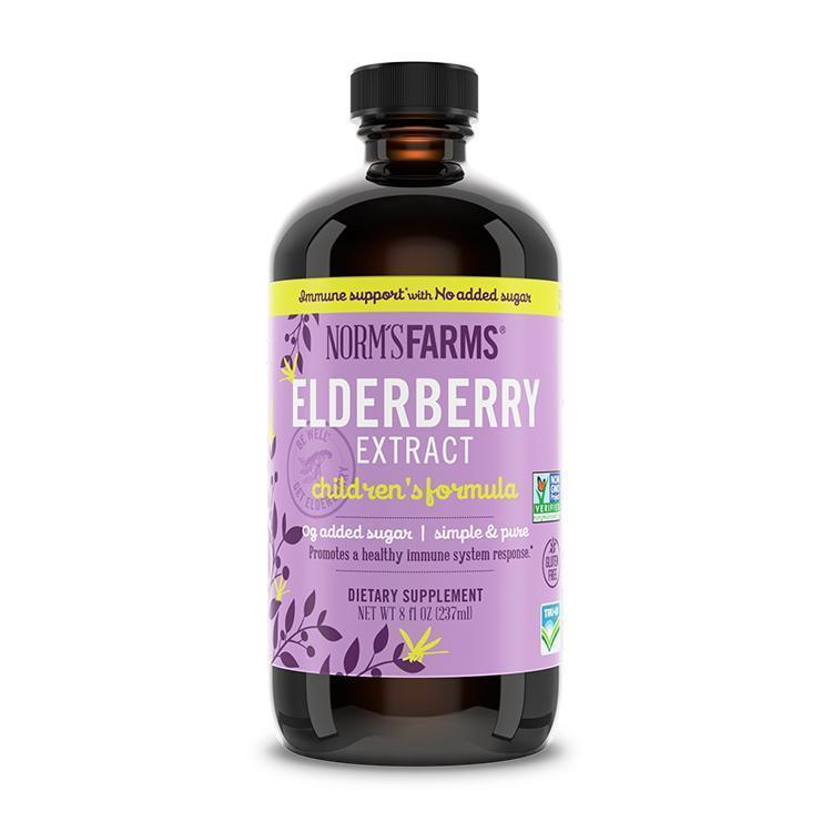 Norm's Farms Elderberry Extract Children's Formula