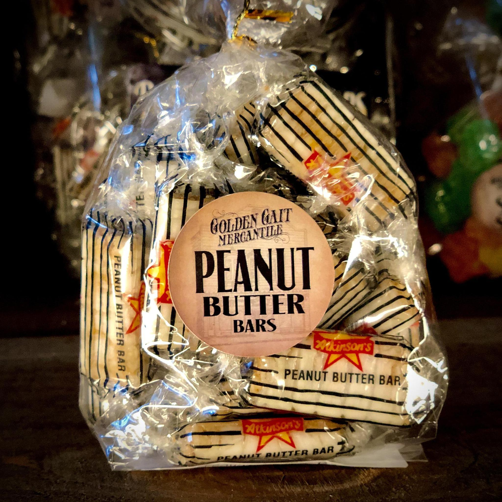 Old Fashioned Peanut Butter Bars By The Golden Gait Mercantile