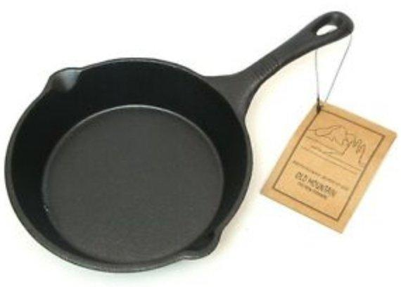 "Old Mountain 6.5"" Cast Iron Pan"