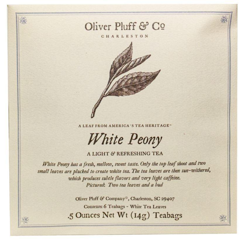 Oliver Puff & Co. White Peony Tea