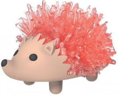 Crystal Growing Hedgehog Orange