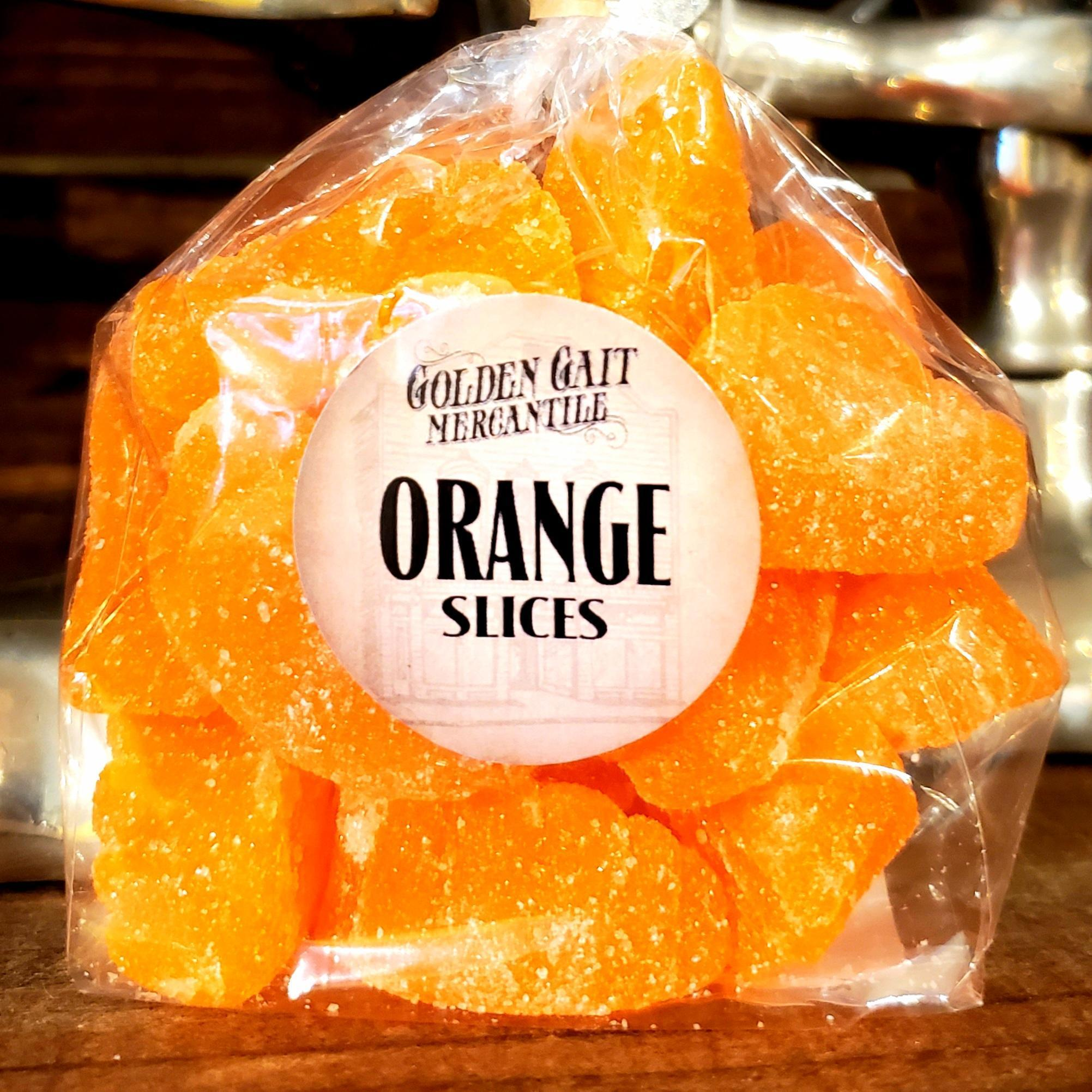 Orange Slices by the Golden Gait Mercantile